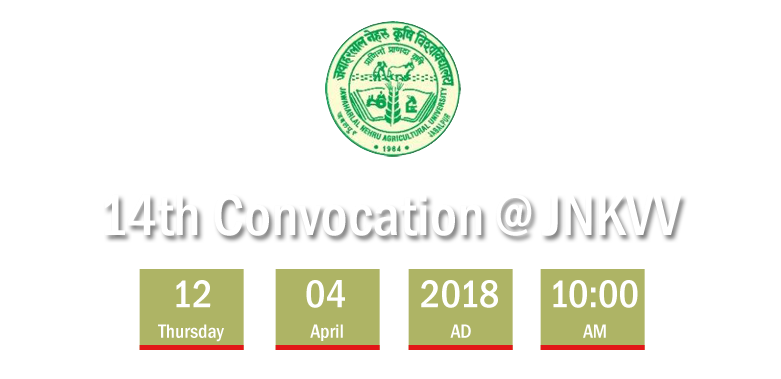 14th Convocation @ JNKVV